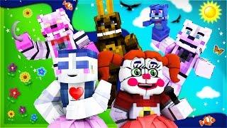 Minecraft - FNAF Sister Location - NIGHT 1!