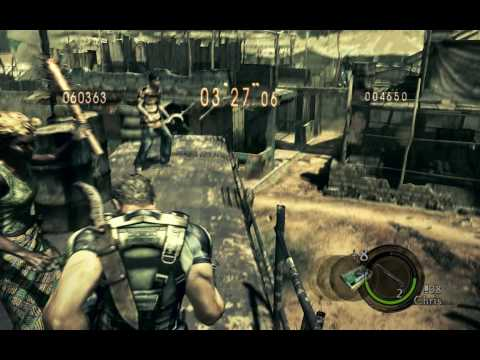 Resident Evil 5 PC - No Mercy Gameplay