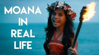 """Moana in Real Life - """"How Far I"""