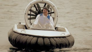 Can You Avoid Landmines With a Hovercraft?   MythBusters