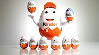 7x Kinder Surprise Eggs from the BIG airport EGG​​​