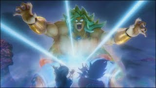 Super Saiyan God Broly vs Goku Teaser Trailer from New 2017 Dragon Ball Z 4D Movie Event [OFFICIAL]
