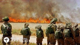 IDF raises level of alert along the Gaza Strip - TV7 Israel News 07.06.18