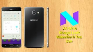 A5 2016 After android Nougat 2017- SStech