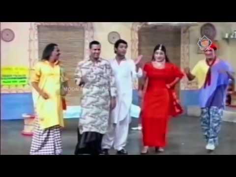 Zafri aur Bijli ka Saksi mazaak ~ best of pakistani stage drama punjabi clips