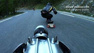 Rollerman & Longboard - Downhill Speed Games