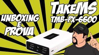 Unboxing & prova TMB-PX-6600 TakeMS
