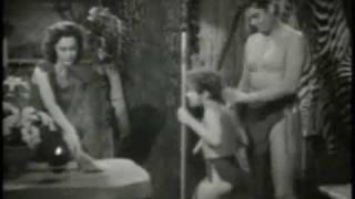 Tarzan concrete jungle scene