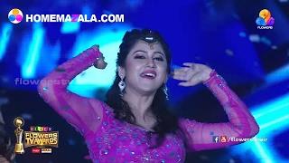 Miya & team dance perfmances | Flowers TV Awards