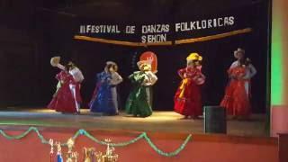 EL CASCAREÑO   Danza Folklórica de Honduras   Inst. Tecnológico Sampedrano