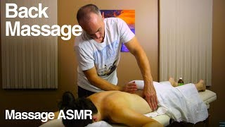 Relaxing Back Massage to Feel Good & ASMR