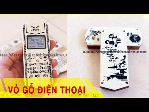 Vỏ gỗ điện thoại Mica - Vỏ gỗ điện thoại giá rẻ