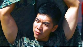 LEE SEUNG GI ARMY TRANSFORMATION?