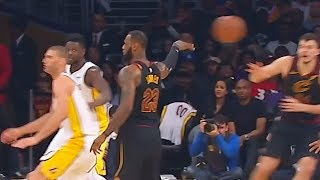 LeBron James Fools The Entire Lakers Team with No-Look Pass! Cavaliers vs Lakers