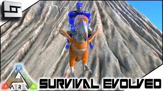 ARK: Survival Evolved - TERROR BIRD TAMING and GRAPPLING HOOK! S3E36 ( Gameplay )