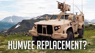 Meet the Humvee Replacement / HMMWV Replacement - Oshkosh Joint Light Tactical Vehicle.