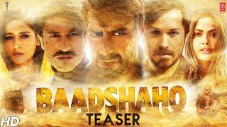 Baadshaho Official Teaser |  Ajay Devgn, Emraan Hashmi, Esha Gupta, Ileana D
