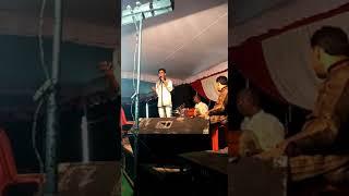 Live stage show singer ashish pandey ayush