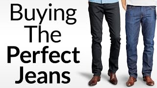 How To Buy The Perfect Pair Of Jeans   5 Common Denim Styles And What's Right For Your Body Type