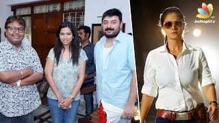 Simran is back as cop in Arvind Swamy's next directed by Selva | Imman | Latest Hot News