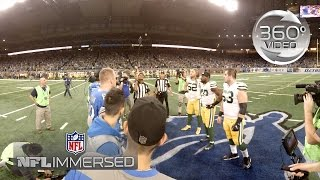 360° Packers vs. Lions Week 17 for the NFC North Crown (360 Video)   Ep. 8   NFL Immersed