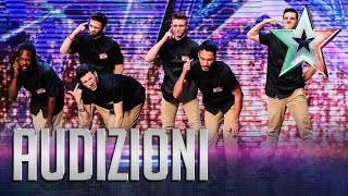 Nerd Force: la rivincita dei veri nerd | Italia's Got Talent 2015