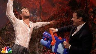 Water War with Chris Hemsworth