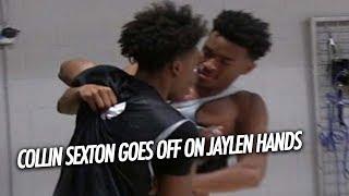 Collin Sexton & Jaylen Hands get Physical at the Ballislife All American Practice