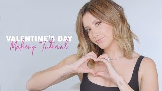 Pretty Soft Pink Glam Valentine's Day Makeup Tutorial  Ashley Tisdale