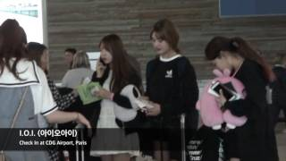 KCON Paris - I.O.I. (아이오아이) - Check In CDG Airport, Paris - Part 2 by Franc C