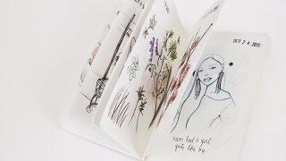 2016 Sketchbook Flip-Through + My Thoughts | Ch▲r ▼illen▲