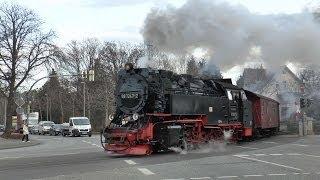 Harz Mountain Railway - February 2014 Part One