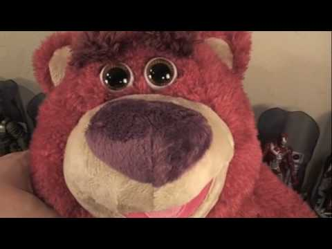 Toy Story Collection Lots O Huggin Bear Talking Movie Toy Review