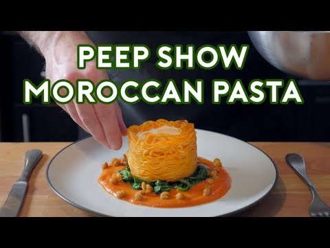 Binging with Babish Moroccan Pasta from Peep Show
