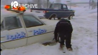 WAVY Archive: 1980 Snow Storm in Tidewater