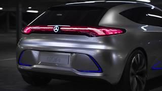 IAA 2017 // Mercedes EQA - driving scenes