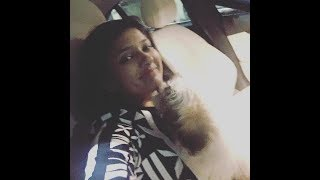 Gayathri Raguramm Play with her Pet