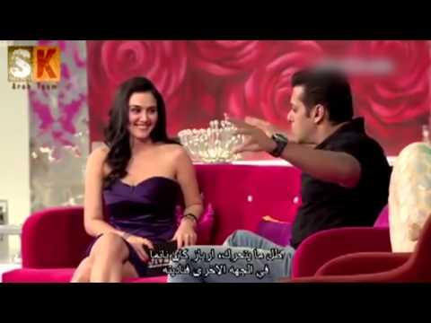 Salman Khan At Preity Zinta's Pent House