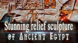Stunning relief sculpture of ancient Egypt