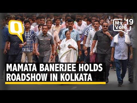 Xxx Mp4 Mamata Banerjee Holds Roadshow In Kolkata 3gp Sex