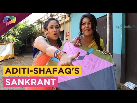 Xxx Mp4 Aditi Sajwan And Shafaq Naaz Celebrate Makar Sankrant With India Forums 3gp Sex