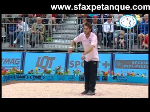 Masters Pétanque 2013 Finale 1ère étape FIGEAC.