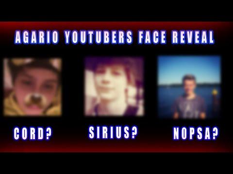 Agar.io - Youtubers Face Reveal / N0psa, Classy, Pine, Sirius, Nahz Fab Games And More!