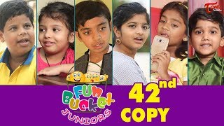 Fun Bucket JUNIORS | Episode 42nd | Kids Funny Videos | Comedy Web Series | By Sai Teja - TeluguOne