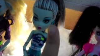 A Short Monster High Doll Movie