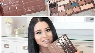 NEW Too Faced Semi Sweet Chocolate Bar Review, Swatches & Comparison