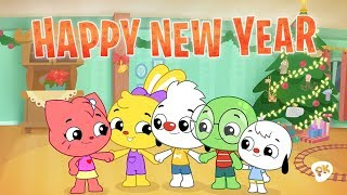 Happy New Year   I Love To Learn   New Year's Song for Kids
