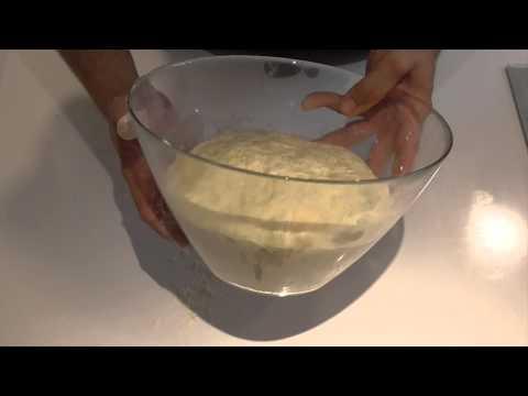 Pan de harina de centeno y trigo