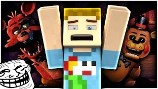 Minecraft: FIVE NIGHTS AT FREDDY'S TROLL?! | CRUNDEE CRAFT