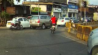 Red signal jumping at Dharavi on 10th April 2015